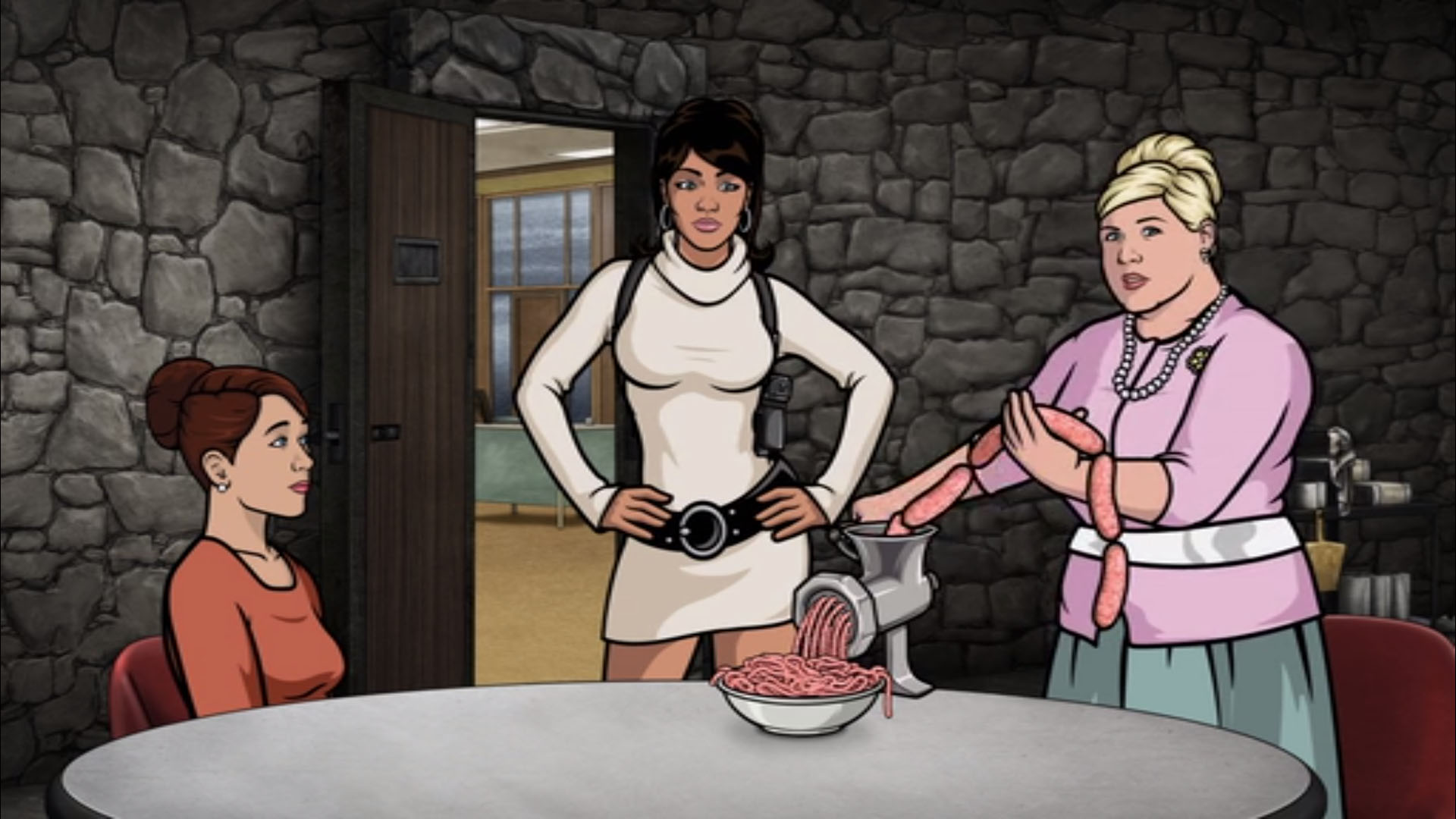 Cartoon archer 3gpx video naked scenes